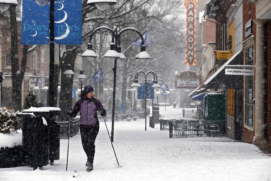 Charlottesville blizzard 2016